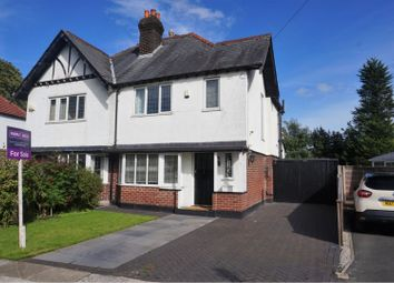 Thumbnail 3 bed semi-detached house for sale in The Nook, Manchester