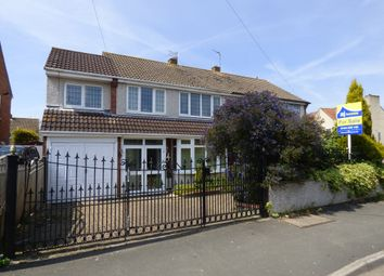 Thumbnail 4 bed semi-detached house for sale in Park Avenue, Winterbourne, Bristol