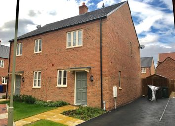 Thumbnail 2 bed semi-detached house to rent in Stratton Park, Bicester