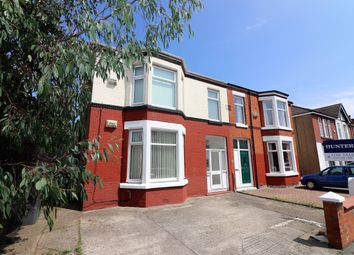 Thumbnail 2 bed flat for sale in Belvidere Road, Wallasey