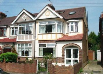 Thumbnail 5 bedroom semi-detached house to rent in Eccleston Crescent, Chadwell Heath, Romford
