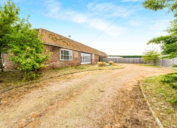 Thumbnail 3 bed barn conversion for sale in Peacocks Road, Frithville, Boston