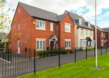 "Thumbnail 5 bed detached house for sale in ""The Marylebone"" at Riber Drive, Chellaston, Derby"