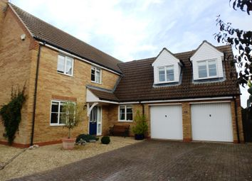 Thumbnail 5 bed detached house to rent in Ladbroke Close, Helpringham, Sleaford