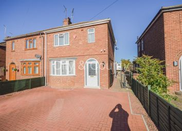 Thumbnail 3 bed semi-detached house for sale in Coneygree Road, Stanground, Peterborough