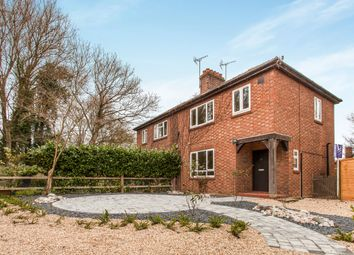 Thumbnail 3 bedroom semi-detached house to rent in Gazeley Road, Kentford, Newmarket