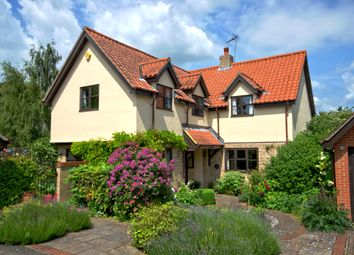 Thumbnail 4 bed detached house for sale in New Farm Close, Fowlmere, Royston