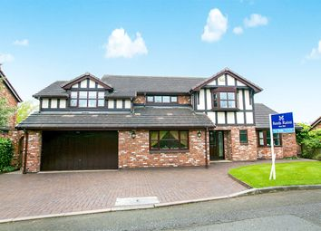 Thumbnail 4 bed detached house for sale in Foxhill Chase, Stockport