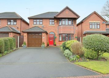 Thumbnail 4 bed detached house for sale in Basset Close, Willaston, Nantwich
