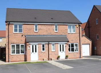Thumbnail 3 bedroom semi-detached house for sale in Blackthorn Close, Selby