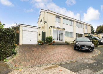Thumbnail 3 bed semi-detached house for sale in Buckland Close, Walderslade, Chatham