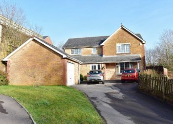 Thumbnail 4 bed detached house for sale in Gerddi Ty Bryn, Pencoed, Bridgend .