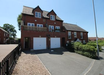 Thumbnail 3 bed town house for sale in Underwood Court, Glenfield, Leicester
