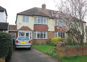 Thumbnail 3 bed semi-detached house for sale in Lawn Close, Datchet, Slough