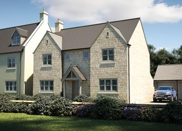 "Thumbnail 4 bed detached house for sale in ""The Thornsett"" at Cirencester Road, Fairford"