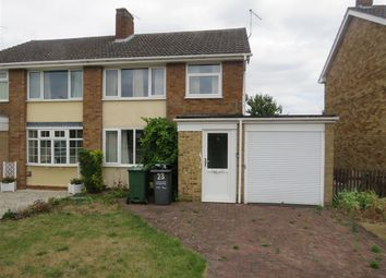 Thumbnail 3 bed semi-detached house for sale in Nightingale Avenue, Hathern, Loughborough