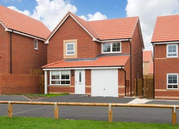 "Thumbnail 3 bed detached house for sale in ""Derwent"" at Bradford Road, East Ardsley, Wakefield"