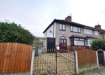Thumbnail 3 bed semi-detached house for sale in Poulton Road, Wallasey
