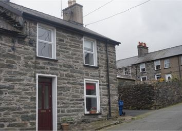 Thumbnail 2 bed end terrace house for sale in Gladstone Terrace, Blaenau Ffestiniog