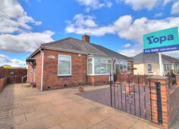 Thumbnail 2 bed bungalow for sale in Firtree Crescent, Forest Hall, Newcastle Upon Tyne
