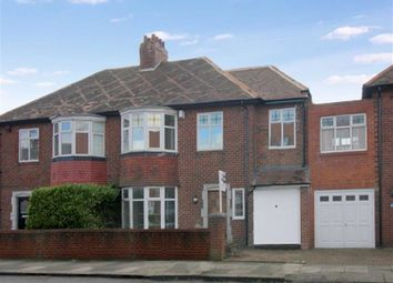 Thumbnail 4 bed semi-detached house for sale in Fenham Hall Drive, Fenham, Newcastle Upon Tyne