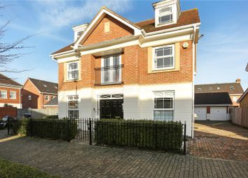 Thumbnail 5 bed detached house for sale in Swordsmans Road, Deepcut, Camberley, Surrey