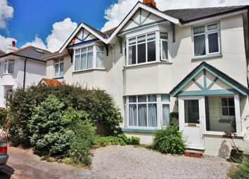 Thumbnail 3 bed semi-detached house for sale in Cedar Road, Paignton