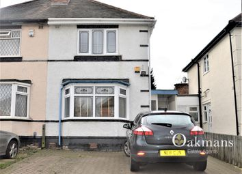 Thumbnail 3 bedroom semi-detached house for sale in Reservoir Road, Selly Oak, Birmingham, West Midlands.