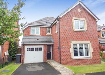 Thumbnail 4 bed detached house for sale in Mowbray Court, Choppington