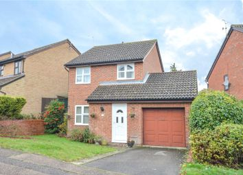 Thumbnail 3 bed detached house for sale in Goddard Way, Saffron Walden, Essex
