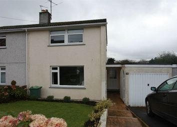 Thumbnail 3 bed semi-detached house for sale in Roslyn Close, St Austell, Cornwall