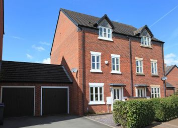 Thumbnail 3 bed semi-detached house for sale in Glendale Mews, Lawley Village, Telford