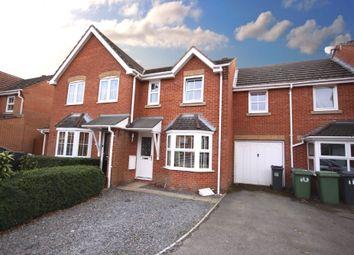 Thumbnail 3 bed terraced house for sale in Cobham Grove, Whiteley, Fareham