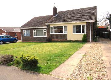 Thumbnail 2 bed semi-detached bungalow for sale in Richmond Rise, Reepham, Norwich