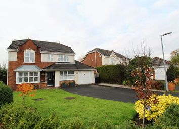 Thumbnail 4 bed detached house for sale in Fellfoot Close, Worsley, Manchester