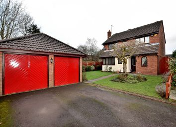 Thumbnail 4 bedroom detached house for sale in Dunham Close, Alsager