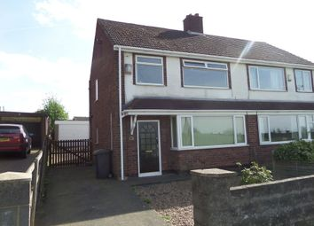 Thumbnail 3 bedroom semi-detached house to rent in Enderby Road, Scunthorpe
