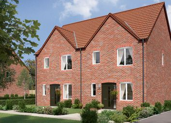 "Thumbnail 3 bed semi-detached house for sale in ""The Hamilton"" at Mansfield Road, Clowne, Chesterfield"