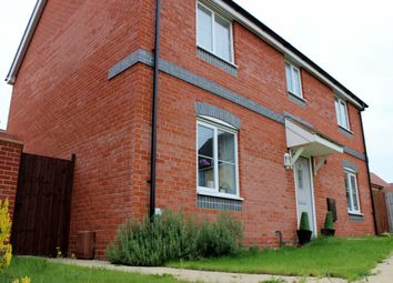 Thumbnail 4 bed detached house to rent in Waxwing Way, Queens Hill, Norwich