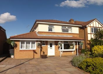 Thumbnail 4 bed detached house to rent in Ridgeway, Lowton, Warrington