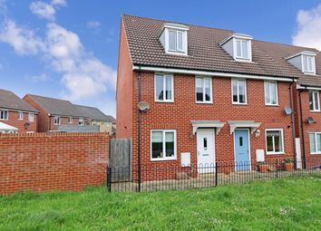 Thumbnail 3 bed town house for sale in Wellstead Way, Hedge End, Southampton, Hampshire