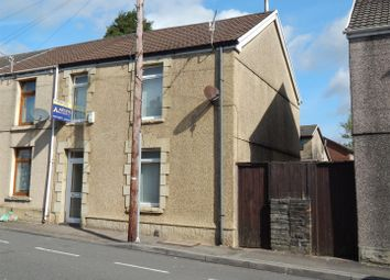Thumbnail 3 bedroom end terrace house for sale in Chemical Road, Morriston, Swansea