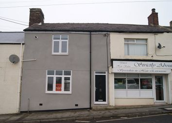 Thumbnail 3 bed terraced house for sale in Front Street, Sherburn Hill, Durham