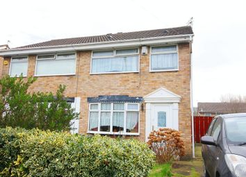 Thumbnail 3 bed semi-detached house for sale in Sudbury Close, Woolton, Liverpool