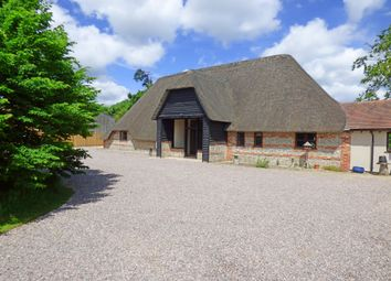 Thumbnail 3 bed barn conversion for sale in Baydon, Marlborough