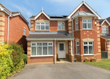 Thumbnail 4 bed detached house for sale in Utgard Way, Grimsby
