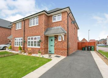 Thumbnail 3 bed semi-detached house for sale in Collingswood Close, Little Sutton, Ellesmere Port, Cheshire