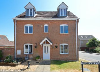 Thumbnail 4 bed detached house for sale in Fennel Crescent, Downham Market