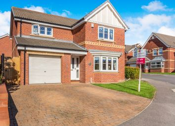 Thumbnail 4 bedroom detached house for sale in Howell Gardens, Thurnscoe, Rotherham