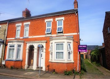 Thumbnail 3 bed end terrace house for sale in Fife Street, Northampton